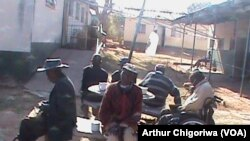 Residents of Chengetanai Old People's Home, Chinhoyi