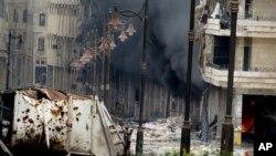 Baik pihak pemerintah maupun oposisi Suriah saling tuduh adanya penggunaan senjata kimia di Suriah (foto: dok).
