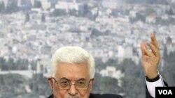 Presiden Palestina Mahmoud Abbas berbicara mengenai upaya untuk mendapat pengakuan penuh sebagai negara merdeka di PBB minggu depan, dalam pidato yang disiarkan hari Jumat (16/9) di Ramallah, Tepi Barat.
