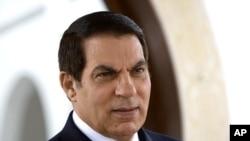 突尼斯被罢免总统本.阿里(资料照片)