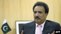 Міністр внутрішніх справ Пакистану Рехман Малік