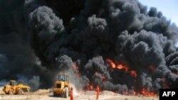 В Ираке атакован крупнейший НПЗ