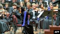 تور آمريکای ارکستر جوانان اتحاديه اروپا