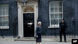 Theresa May, primeira-ministro do Reino Unido