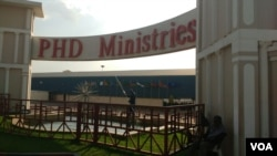 Prophetic Healing and Deliverance Ministries headquarters in Waterfalls, Harare.