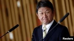 日本外相茂木敏充(路透社2021年1月8日資料照)