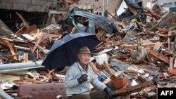 Thị trấn Ofunato của Nhật Bản sau trận động đất và sóng thần