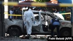 Attentat à Tunis le 27 juin 2019.