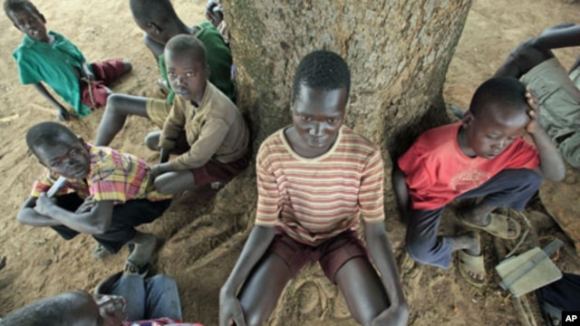 Children suffering from Nodding disease in Northern Uganda