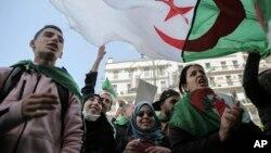 معترضان الجزایری - آرشیو