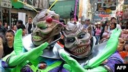 В Гонконге инопланетян представляют такими