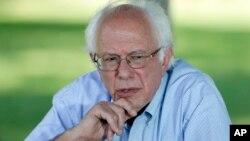 Thượng nghị sĩ Dân chủ Bernie Sanders.