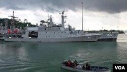 El ejército naval de varios países de América unen fuerzas para proteger el Canal de Panamá.