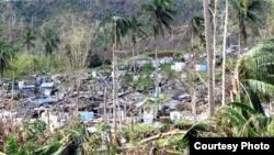 Philippines vẫn còn đang hồi phục sau trận bão Bopha hồi đầu tháng