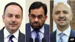 وزیر مالیه و شهر سازی و مسکن از سمت های شان استعفا دادند و وزیر آب و برق از سوی رئیس جمهور غنی برکنار، اما از سوی رئیس اجراییه ابقا شد