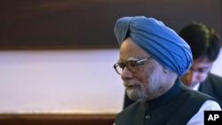 بھارت کے سابق وزیر اعظم من موہن سنگھ۔ فائل فوٹو