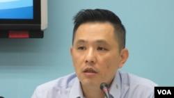 台湾国民党立委陈以信(美国之音张永泰拍摄)