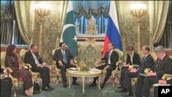 اہم شعبوں میں تعاون کے لئے پاک روس یاددشتوں پر دستخط