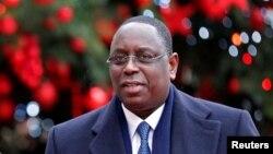 Le président sénégalais Macky Sall, 20 décembre 2016.