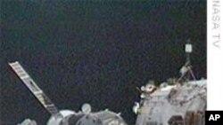 Шаталот Ендевор заминува од Меѓународната вселенска станица