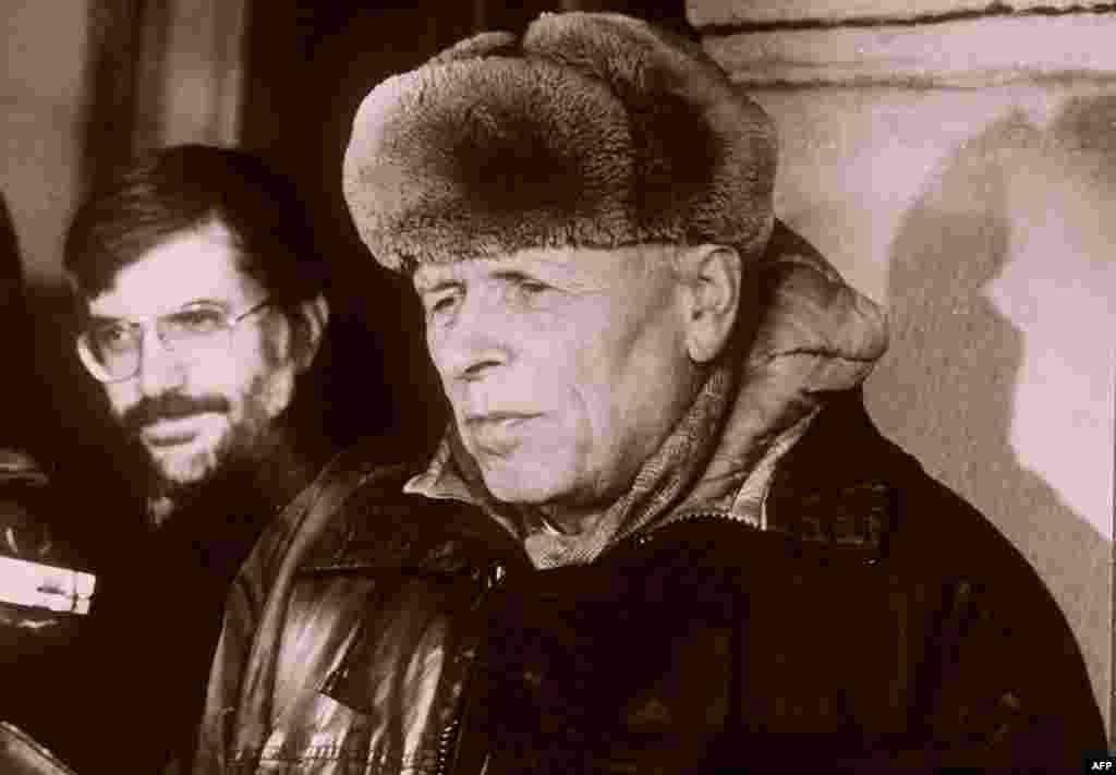 Интервью Андрея Сахарова западному журналисту после его встречи с государственным секретарем США Джорджом Шульцем, Москва 21 февраля 1988г.