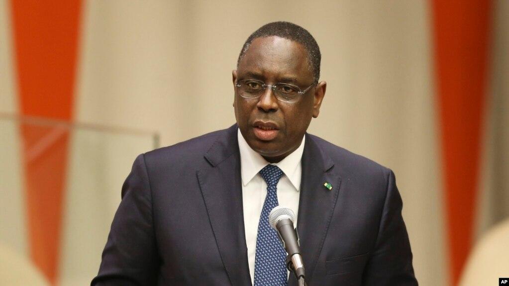 Macky Sall, le président du Sénégal. Lundi 19 septembre 2016