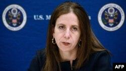 Sigal Mandelker, naibu waziri wa Marekani kwa masuala ya ugaidi Afrika