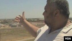 土耳其杰伊兰珀纳尔镇的库尔德居民伯万(视频截图)