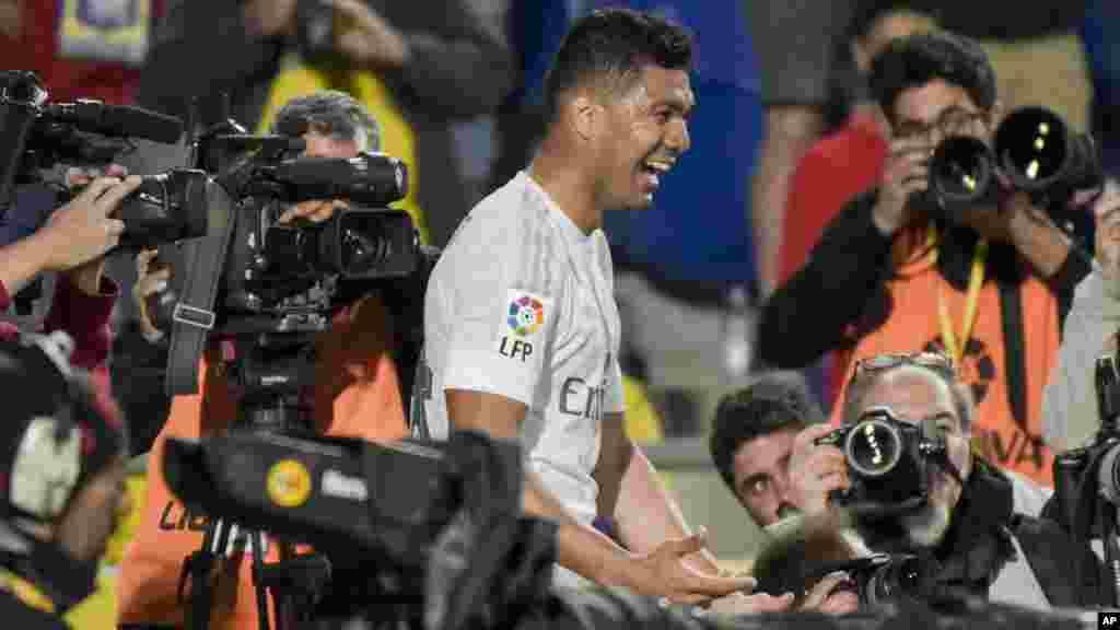 Le Real Madrid l'a emporté sur la pelouse de Las Palmas (2-1). Casemiro a délivré les Madrilènes en toute fin de rencontre.
