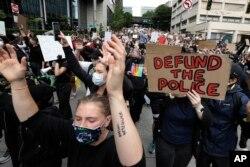 ABŞ-ın bir çox iri şəhərlərində polis zorakılıqlarına və sistemik irqçiliyə qarşı nümayişlər vüsət alıb.
