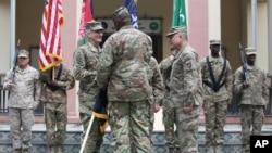 مراسم تحویلدهی فرماندهی ناتو در کابل