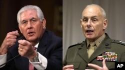 Rex Tillerson y John F. Kelly viajarán en medio de la crisis diplomática por la construcción de un muro fronterizo.