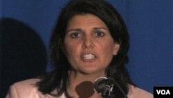 Никки Хейли – губернатор штата Южная Каролина