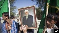 مظاهرات در بدخشان به خاطر کشته شدن ربانی