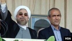 Prezident Ruhani və Ərdəbil valisi Məcid Xudabəxş