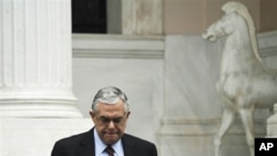 یونان کے وزیر اعظم لوکس پاپادیموس