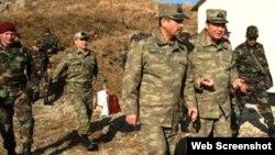 Müdafiə naziri Zakir Həsənov və Baş Qərargah rəsisi Nəciməddin Sadıqov