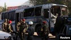محل حمله انتحاری امروزی درکارته چهار شهر کابل