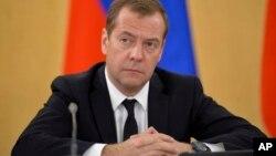 Премьер-министр России Дмитрий Медведев (архивное фото)