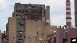 Termoelektrana u Obiliću posle eksplozije 6. juna 2014.