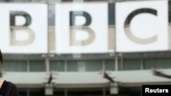 Headquarters of the BBC
