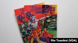 Komik wayang seperti Rama dan Sinta karya RA Kosasih sangat populer di era 70 hingga 80-an. (Foto: Rio Tuasikal/VOA)