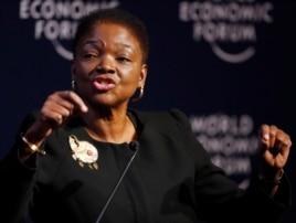 FILE - U.N. Undersecretary-General for Humanitarian Affairs Valerie Amos.