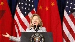 کلینتون: دگرگونی های دمکراتیک چین را نیز فرا خواهد گرفت