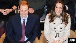 Принц Уильям и Кейт Миддлтон (архивное фото)