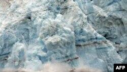 Ледник Хаббарда. Аляска, США