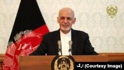 افغان صدر اشرف غنی، فائل فوٹو