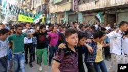 Демонстрация в Хомсе