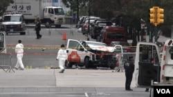 ISIS mengklaim serangan yang dilakukan oleh tersangka Sayfullo Saipov di New York City, Selasa 31/10. (Foto: R. Taylor / VOA)