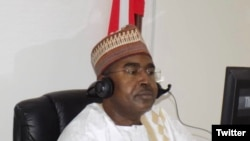 Shugaban NDLEA, Muhammad Buba Marwa (Twitter/ NDLEA)